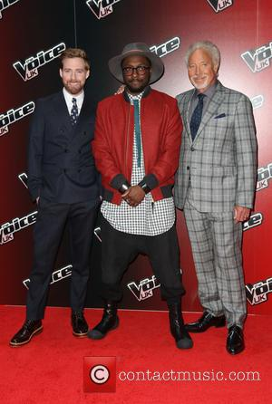 Tom Jones, Ricky Wilson and Will.I.Am - Photos from the launch of the 4th season of The Voice UK which...