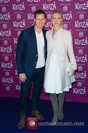 Brendan Cole and Zoe Hobbs - Cirque du Soleil: Kooza - press night held at the Royal Albert Hall -...
