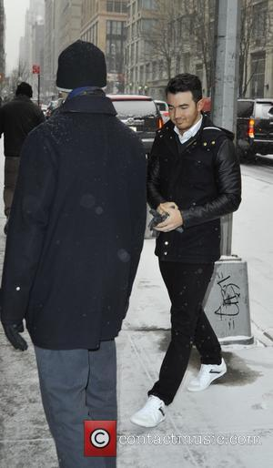 Kevin Jonas - Kevin Jonas arriving at 'The Wendy Williams Show' - Manhattan, New York, United States - Tuesday 6th...