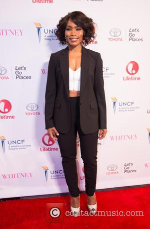 Angela Bassett - Premiere of Lifetime's 'Whitney' at The Paley Center for Media - Arrivals at Paley Center - Beverly...