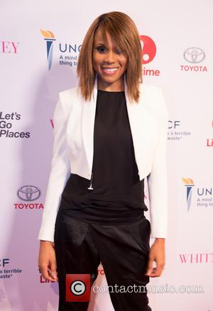 Deborah Cox - Premiere of Lifetime's 'Whitney' at The Paley Center for Media - Arrivals at Paley Center - Beverly...