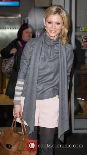 Emilia Fox - Emilia Fox leaving the BBC Radio 2 studios at BBC Portland Place - London, United Kingdom -...