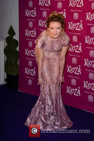 Dakota Blue Richards - Cirque Du Soleil - 'Kooza' premiere at the Royal Albert Hall - Arrivals at Cirque Du...