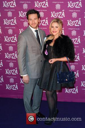 Heidi Range and Guest - Cirque du Soleil: Kooza - press night held at the Royal Albert Hall - Arrivals....