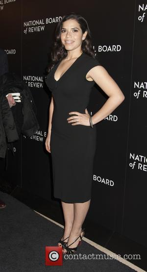 America Ferrera - 2014 National Board of Review Gala at Cipriani 42nd Street - Arrivals - New York City, United...