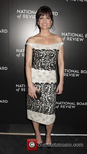 Carla Gugino - 2014 National Board of Review Gala at Cipriani 42nd Street - Arrivals - New York City, United...