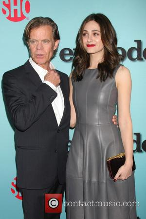 William H. Macy and Emmy Rossum