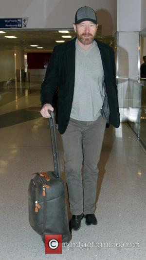 American actor and star of the hit TV show 'Breaking Bad' Bryan Cranston was snapped as he departed from Los...