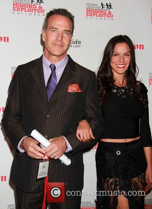 Richard Burgi and Liliana Burgi