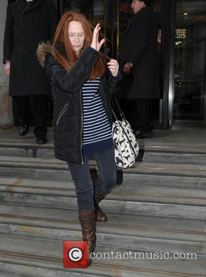 Catherine Tate - Catherine Tate seen leaving Corinthia Hotel in London - London, United Kingdom - Wednesday 7th January 2015