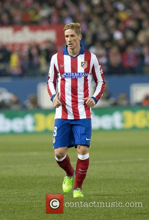 Fernado Torres - Atletico de Madrid v Real Madrid in the Copa del Rey Round of 16 at Vicente Calderon...
