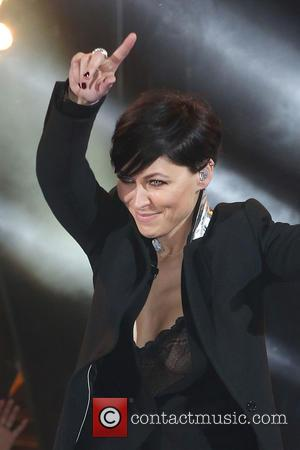 Emma Willis - Shots of the 2015 contestants from Celebrity Big Brother 2015 as they enter in to the house...
