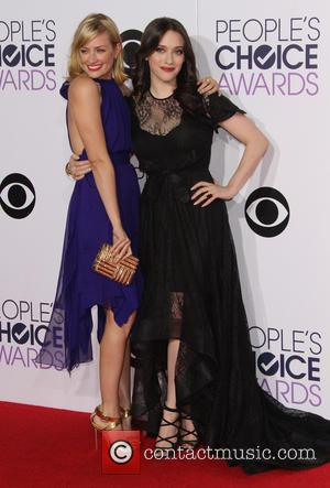 Beth Behrs and Kat Dennings - A variety of stars were photographed as they took to the red carpet for...
