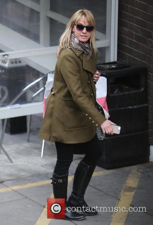 Tamzin Outhwaite - Tamzin Outhwaite outside ITV Studios - London, United Kingdom - Wednesday 7th January 2015