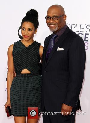 Kelly McCreary and James Pickens Jr. - The 41st Annual People's Choice Awards at Nokia Theatre LA Live - Arrivals...