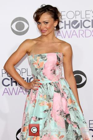 Karina Smirnoff - The 41st Annual People's Choice Awards at Nokia Theatre LA Live - Arrivals at Nokia Theatre L.A....