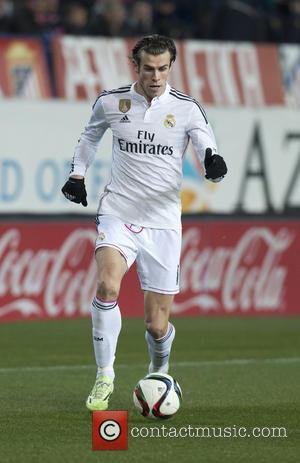 Gareth Bale - Atletico de Madrid v Real Madrid in the Copa del Rey Round of 16 at Vicente Calderon...