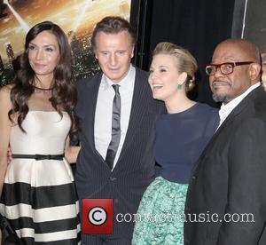 Famke Janssen, Liam Neeson, Maggie Grace and Forest Whitaker