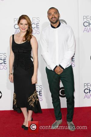 Sarah Drew and Jesse Williams - A variety of stars were photographed as they took to the red carpet for...