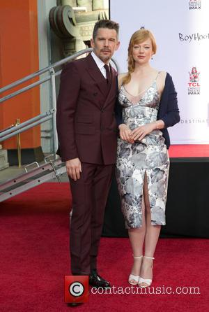 Ethan Hawke and Sarah Snook