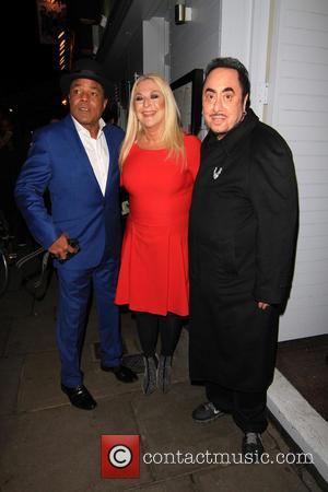 Vanessa Feltz, Tito Jackson and David Gest