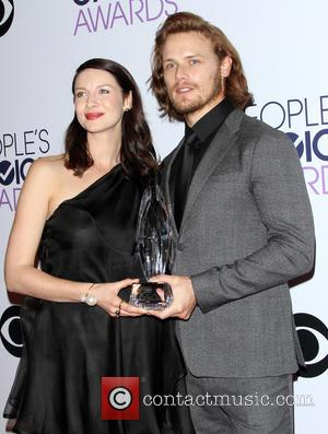 Caitriona Balfe and Sam Heughan - A variety of stars were photographed as they took to the red carpet for...