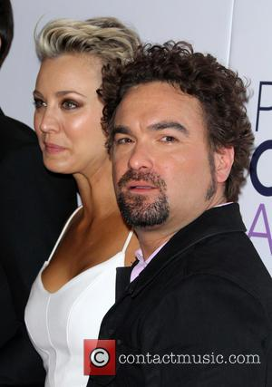 Kaley Cuoco-Sweeting and Johnny Galecki - A variety of stars were photographed as they took to the red carpet for...