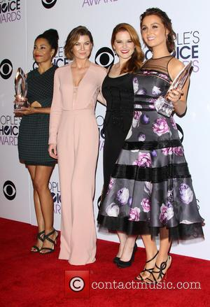 Kelly McCreary, Ellen Pompeo, Sarah Drew and Camilla Luddington - A variety of stars were photographed as they took to...