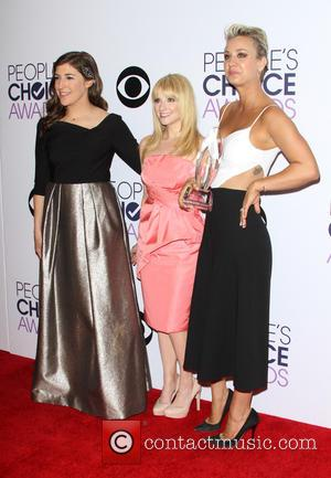 Mayim Bialik, Melissa Rauch and Kaley Cuoco-sweeting