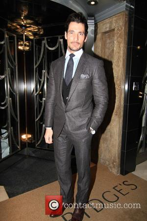 David Gandy - The Rake Magazine And Claridge's Celebration of London Collections: Men at Claridge's Hotel - London, United Kingdom...