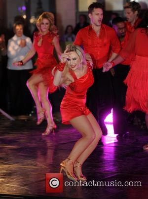 Kristina Rihanoff - 'Strictly Come Dancing' contestants on 'The One Show' at Strictly Come Dancing - London, United Kingdom -...
