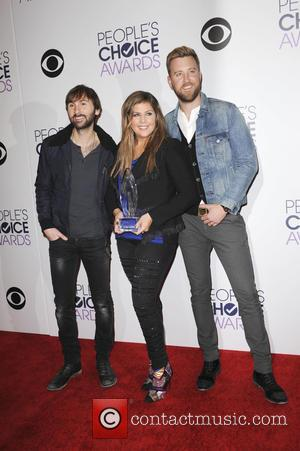 Lady Antebellum - The  Annual Peoples Choice Awards saw a variety of stars attend and snapped as they took...