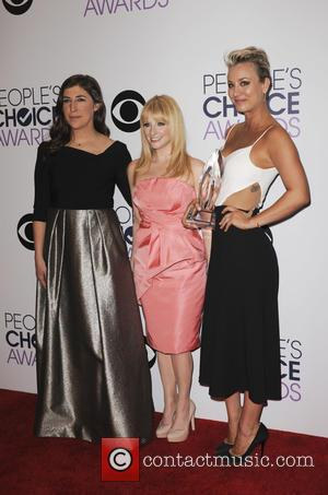 Mayim Bialik, Melissa Rauch and Kaley Cuoco