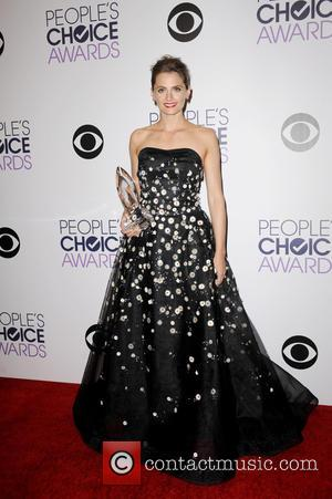 Stana Katic - The  Annual Peoples Choice Awards saw a variety of stars attend and snapped as they took...