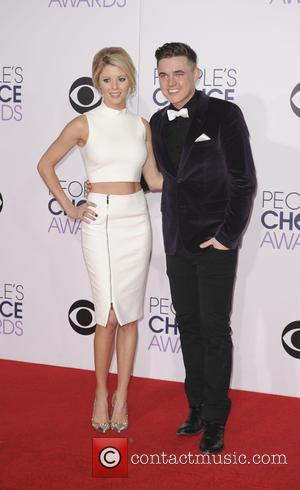 Jesse McCartney and Katie Peterson - A variety of stars were photographed as they took to the red carpet for...