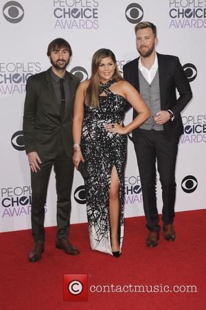 Lady Antebellum - A variety of stars were photographed as they took to the red carpet for the 41st Annual...