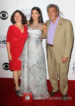 Magali Rodriguez, Genaro Rodriguez and Gina Rodriguez