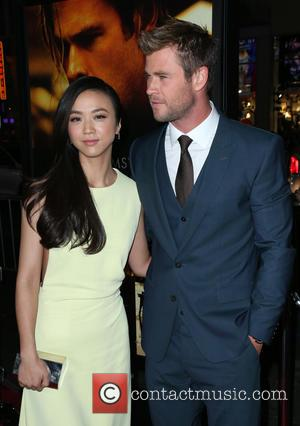Tang Wei and Chris Hemsworth