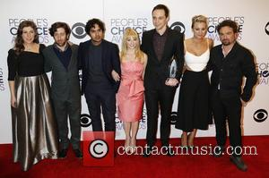 Mayim Bialik, Simon Helberg, Kunal Nayyar, Melissa Rauch, Jim Parsons, Kaley Cuoco-sweeting, Johnny Galecki and Big Bang Theory