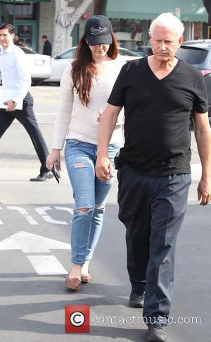 Lana Del Rey and Robert Grant - Lana Del Rey spotted out in West Hollywood with her parents, Patricia and...