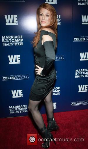 Angie Everhart - We TVs Marriage Boot Camp - Premiere Party at 1 OAK Los Angeles - West Hollywood, California,...
