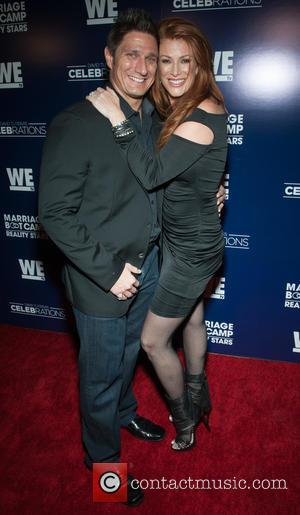 Carl Ferro and Angie Everhart