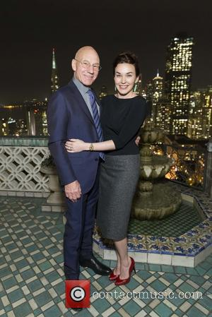 Patrick Stewart and Sunny Ozell - Patrick Stewart attends Berkeley Rep Dinner At Fairmont at Fairmont Hotel Penthouse - San...