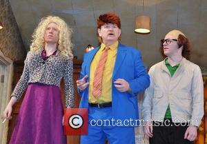 Domhnall Gleeson, Brendan Gleeson and Brian Gleeson