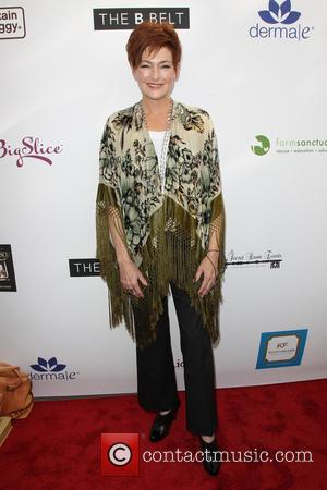 Carolyn Hennesy - Kari Feinstein's Pre-Golden Globes Style Lounge at SLS Hotel, Golden Globes - Beverly Hills, California, United States...