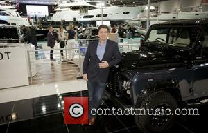 Nick Knowles - Pictured: Nick Knowles by Land Rover stand at the CWM FX London Boat Show 2015 at ExCeL...