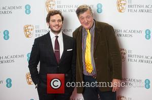 Sam Claflin and Stephen Fry
