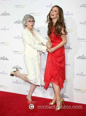 Rita Moreno and Rachel Boston