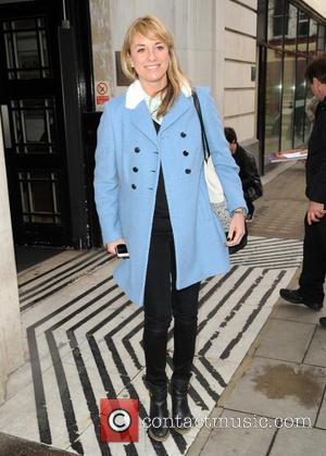Tamzin Outhwaite - Tamzin Outhwaite at the BBC Radio 2 studios - London, United Kingdom - Friday 9th January 2015