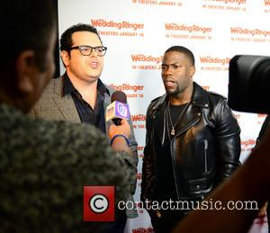 Josh Gad and Kevin Hart